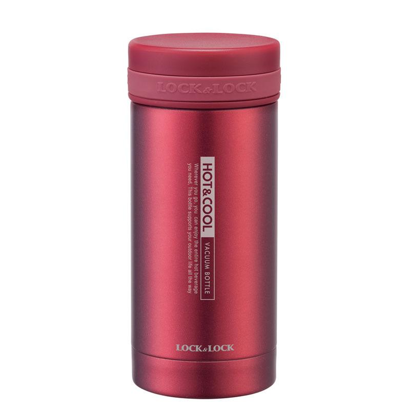 乐扣乐扣 不锈钢纤巧茶杯LHC550(红色)