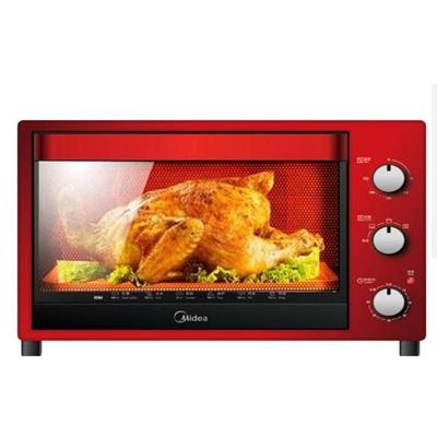 美的超大容量多功能烘焙家用电烤箱 T3-321C 红色