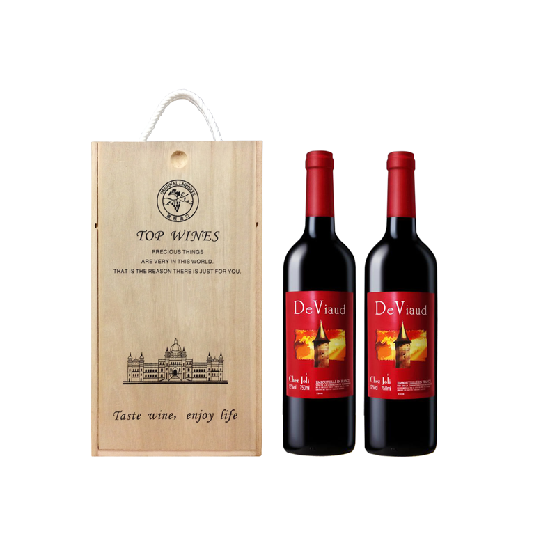 中粮雷沃庄园·诗伽俐干红葡萄酒750ml*2 法国原装原瓶进口