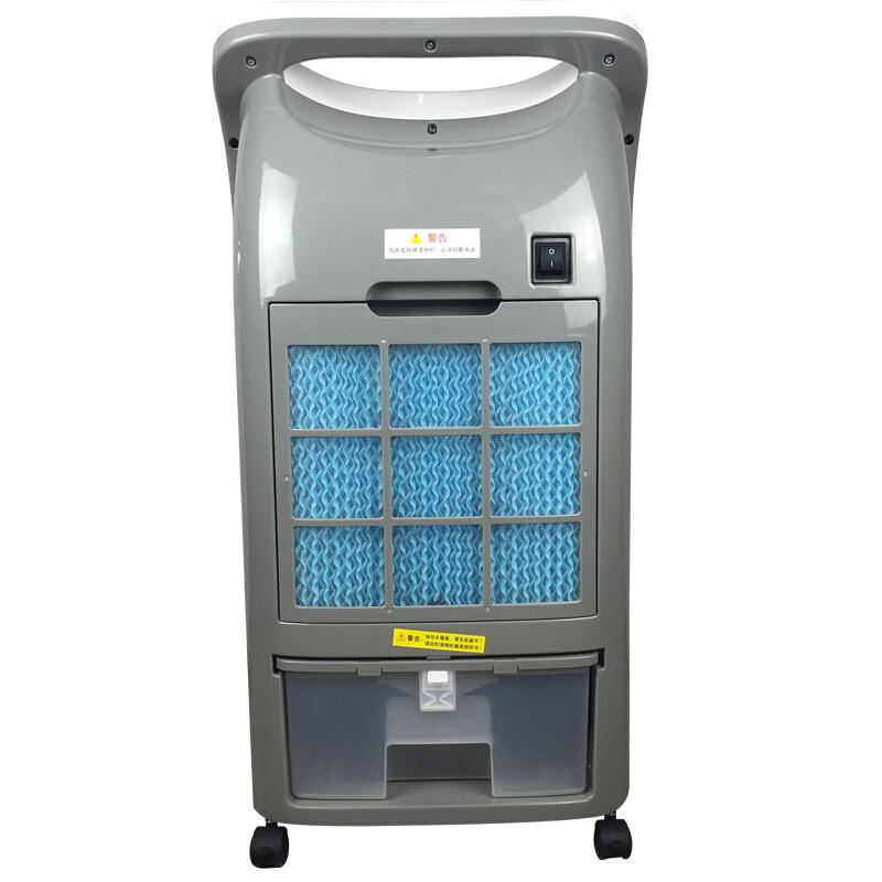 美的空调扇AD100-U 冷、热、净化、加湿四大功能合一