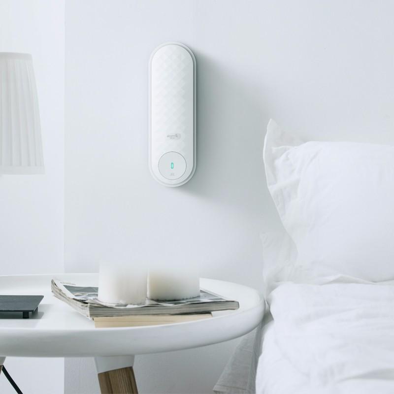 德尔玛(Deerma) 空气清新加香机 卫生间除异味扩香机加香器 PX833 白色