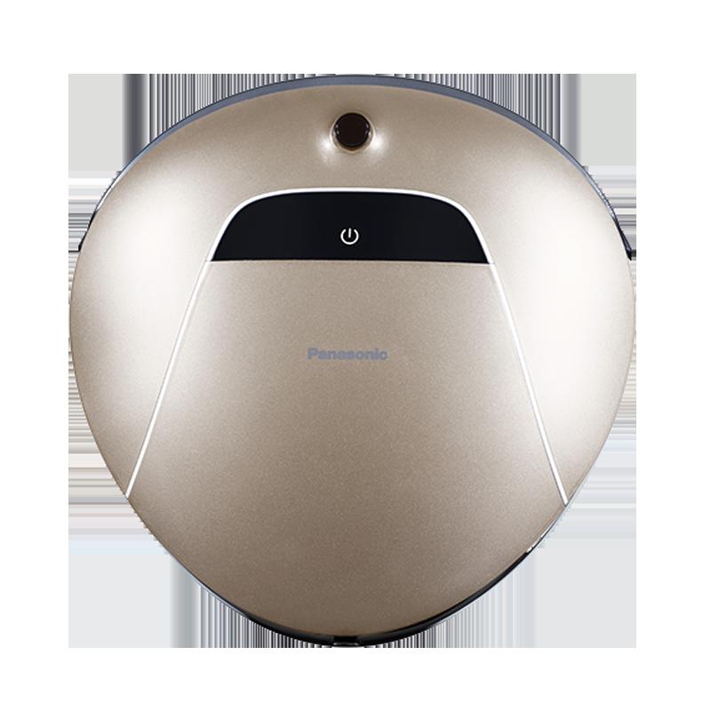 松下(Panasonic)扫地机器人智能家用自动吸尘器扫地电动擦地机全自动 MC-RS753(金色) 魔法精灵系列