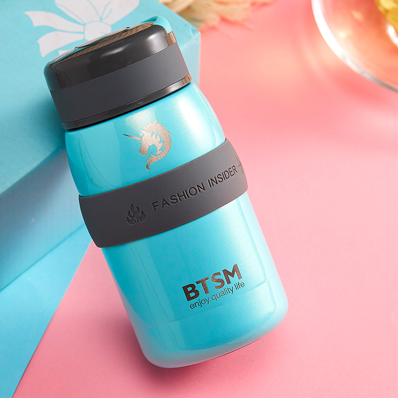 BTSM 不锈钢保温杯 直杯便携杯 婴儿用杯布兰卡保温杯BTB-1707