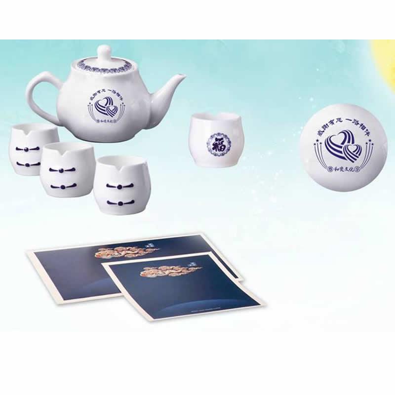 花好月圆—添福茶具