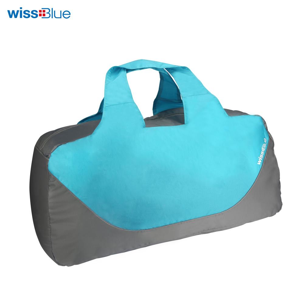维仕蓝40L大容量折叠旅行包