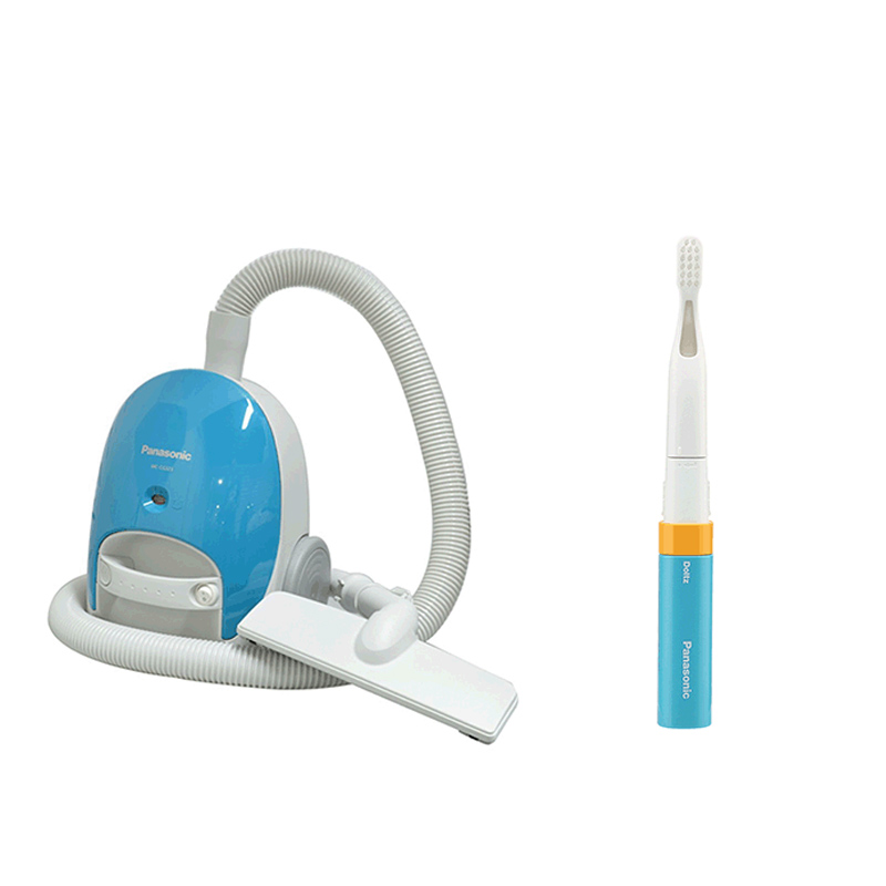 松下家电套装吸尘器+电动牙刷