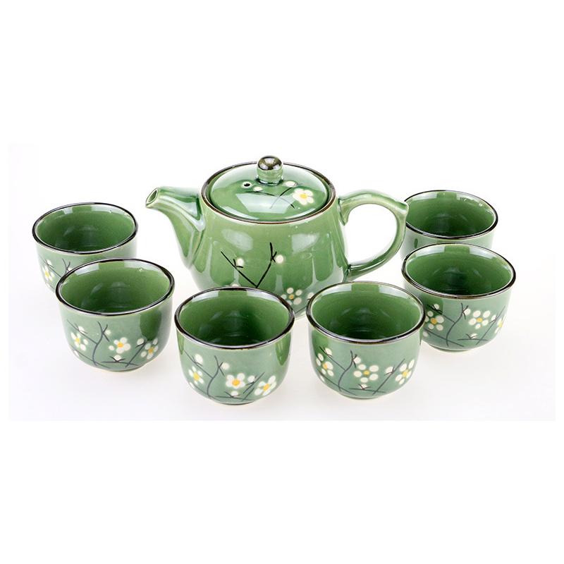 传统九头茶具  一壶六杯