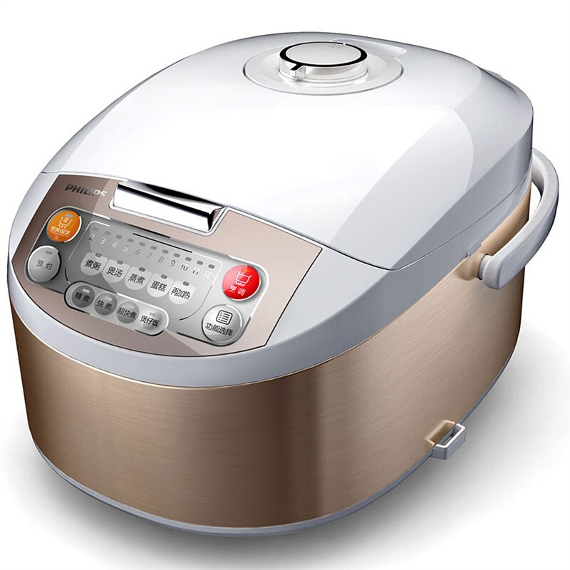 飞利浦(PHILIPS)电饭煲 HD3032/21 智能电饭锅3L智能 可预约多功能