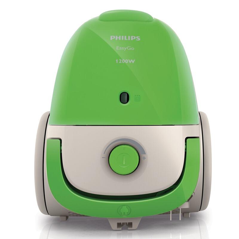 飞利浦(PHILIPS)吸尘器FC8083/81家用尘袋式大功率(苹果绿)