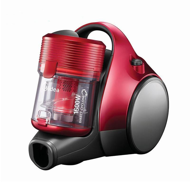 美的红色卧式吸尘器