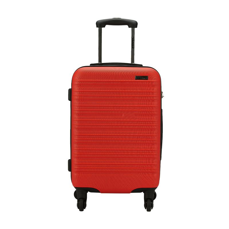 外交官时尚拉杆箱YH-6162红色