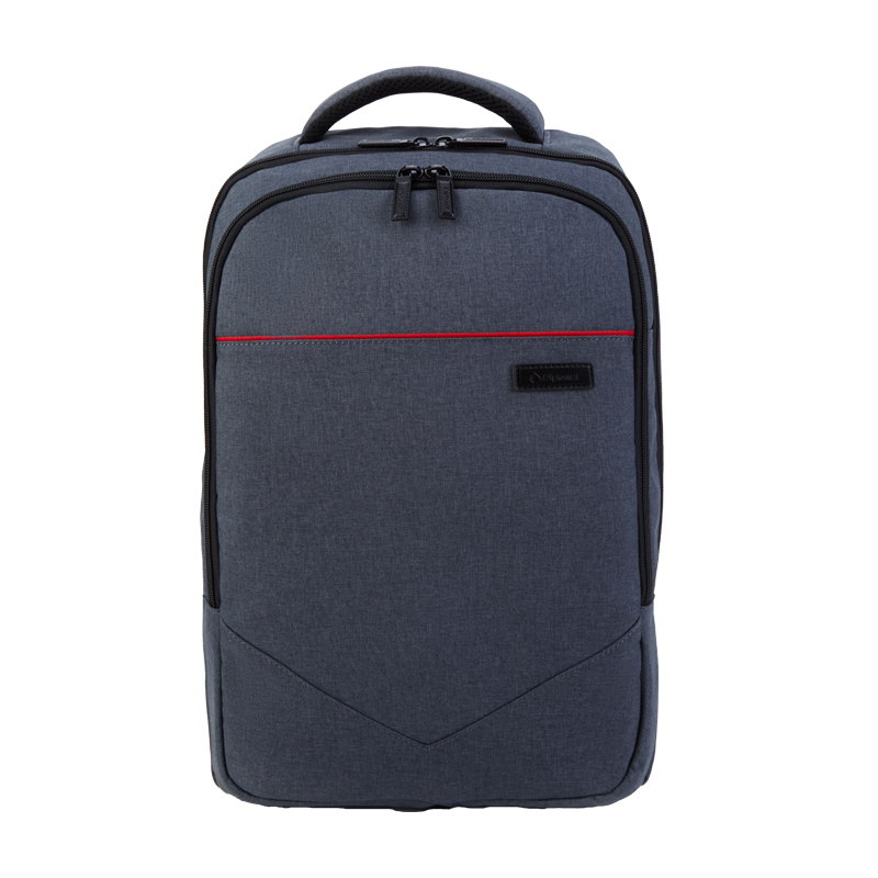 外交官商务休闲双肩背包YH-739L黑色