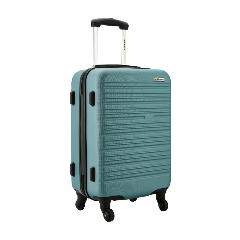 外交官时尚拉杆箱YH-6162蓝色