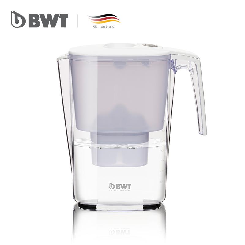 德国BWT Slim思慕机械版3.6L滤水壶+7个滤芯