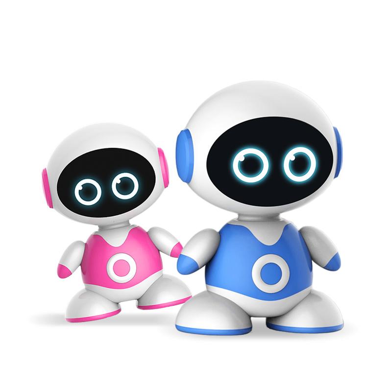 爱童丁丁冬冬卡片智能机器人(红色)
