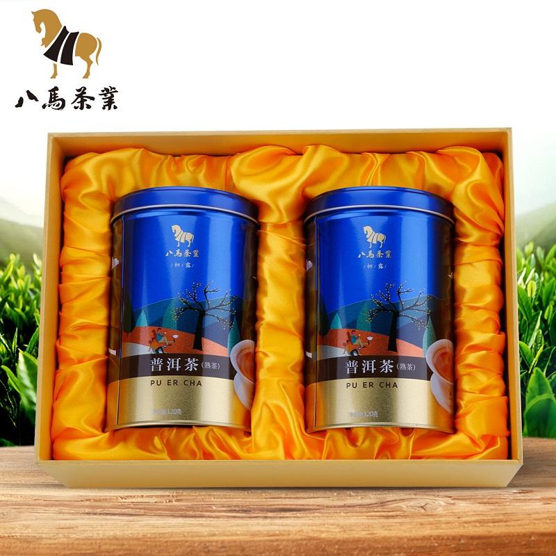 八马茶业普洱茶 两罐