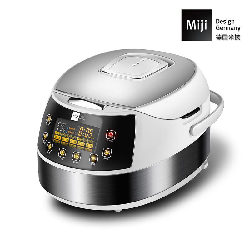 德国Miji 米技微电脑多功能电饭煲(触控版) EC40F   4L【HT】