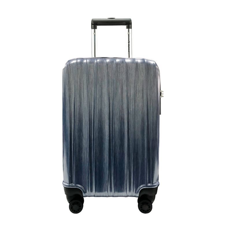 外交官时尚拉杆箱 20英寸 YH-6172【拉丝银】