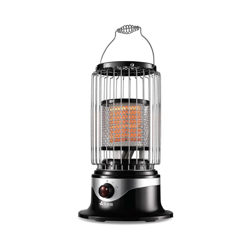 艾美特鸟笼取暖器家用/电暖器/小太阳/马灯取暖气 烤火炉红外台式
