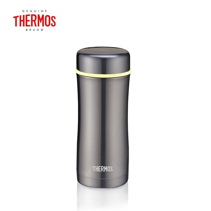 膳魔师(THERMOS) 高真空不锈钢保温杯便携泡茶杯带茶漏情侣水杯TCCG-400(颜色随机)