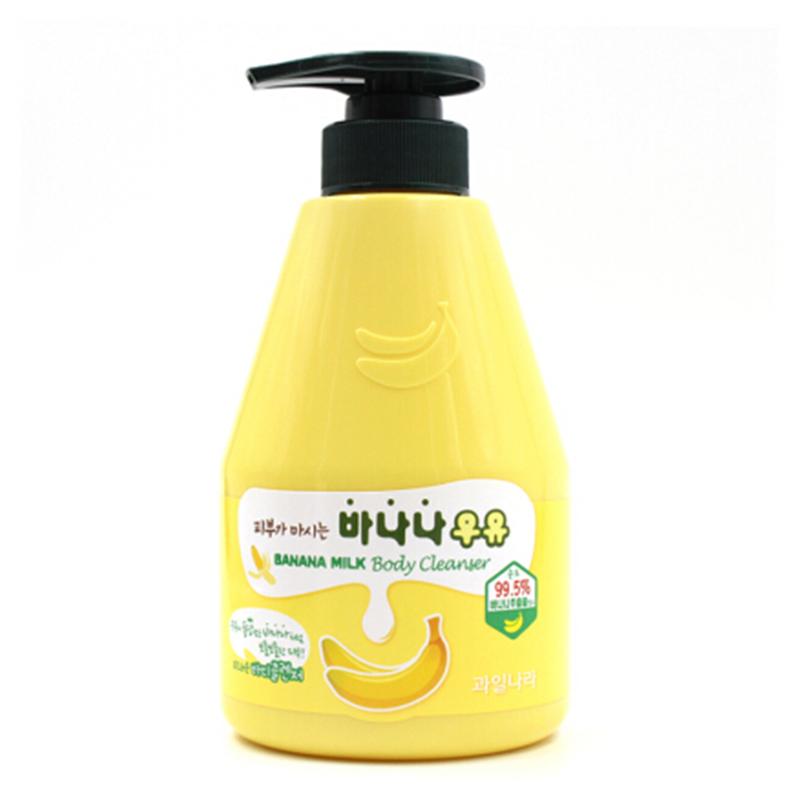 【韩国进口】香蕉牛奶沐浴露