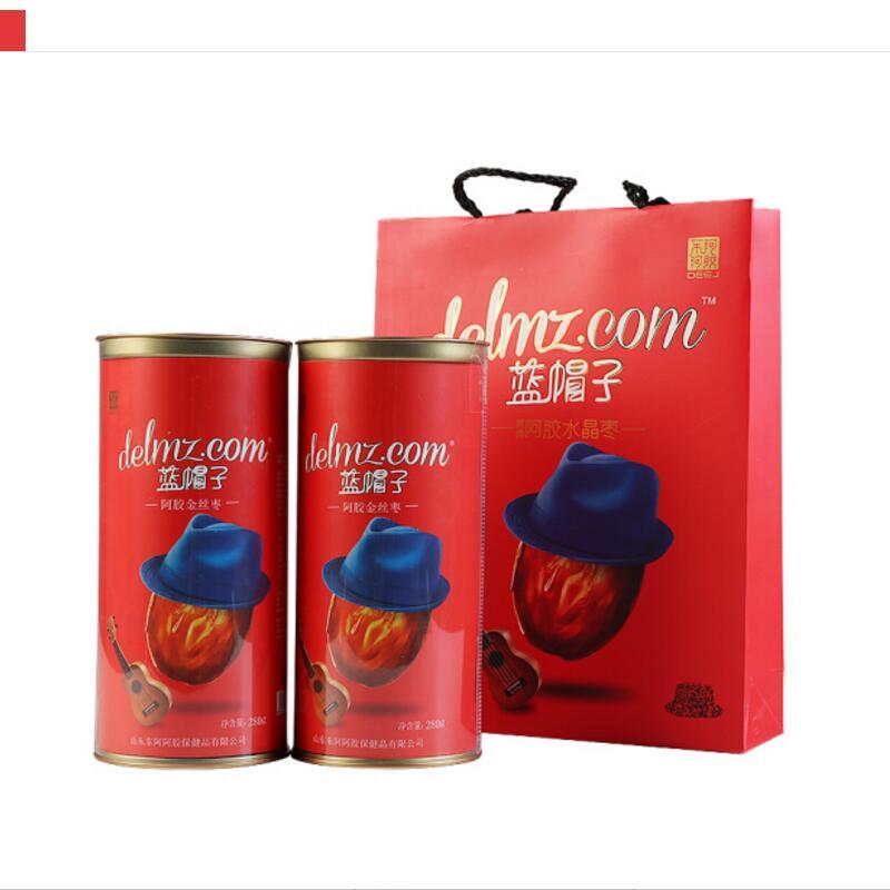 东阿阿胶蓝帽子金丝枣2罐装