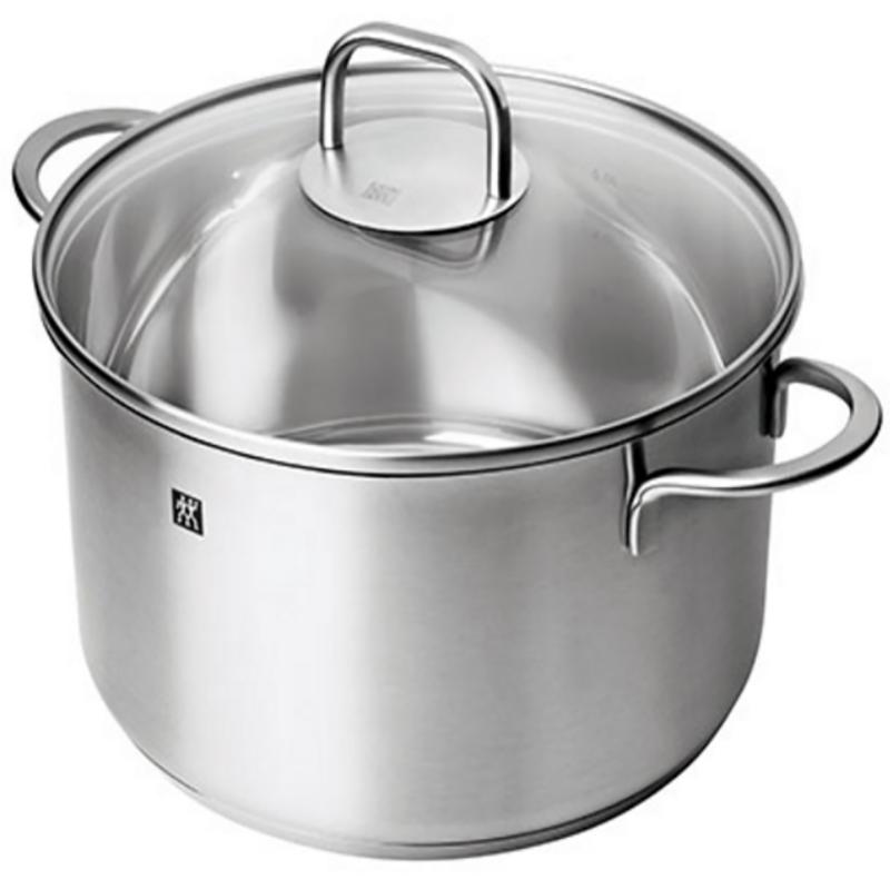 德国双立人24cm三层钢汤锅Twin Nova Plus 汤蒸煲防烫电磁通用锅具304不锈钢