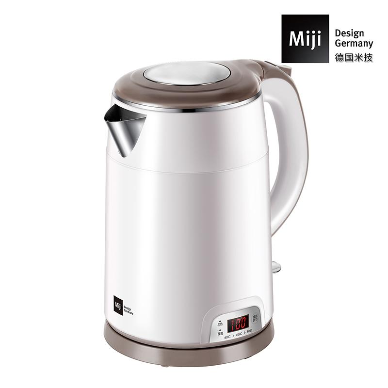 【预售3月中发货】德国Miji 米技 不锈钢电热水壶(保温型)HK-4252