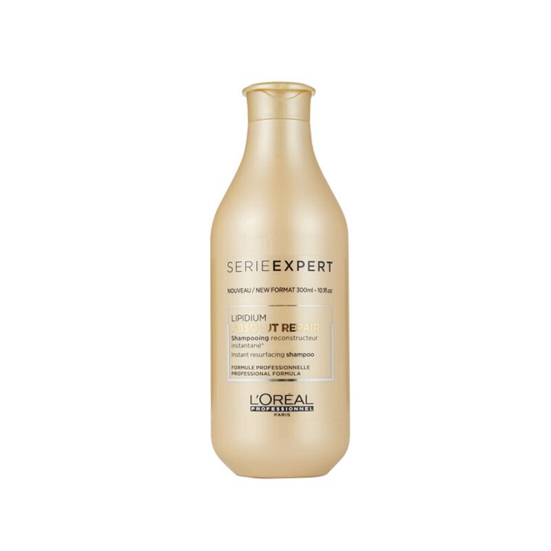 L'OREAL欧莱雅 致臻修护洗发水针对极度受损的发质 深层清洁 滋润300ml