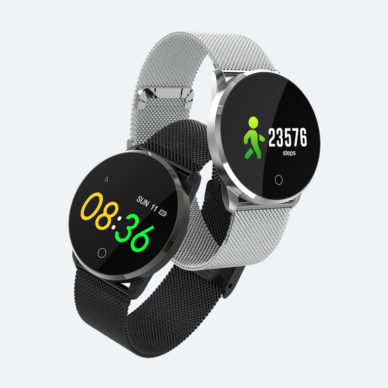 恩谷EG-T12 智能金属心率血压手环