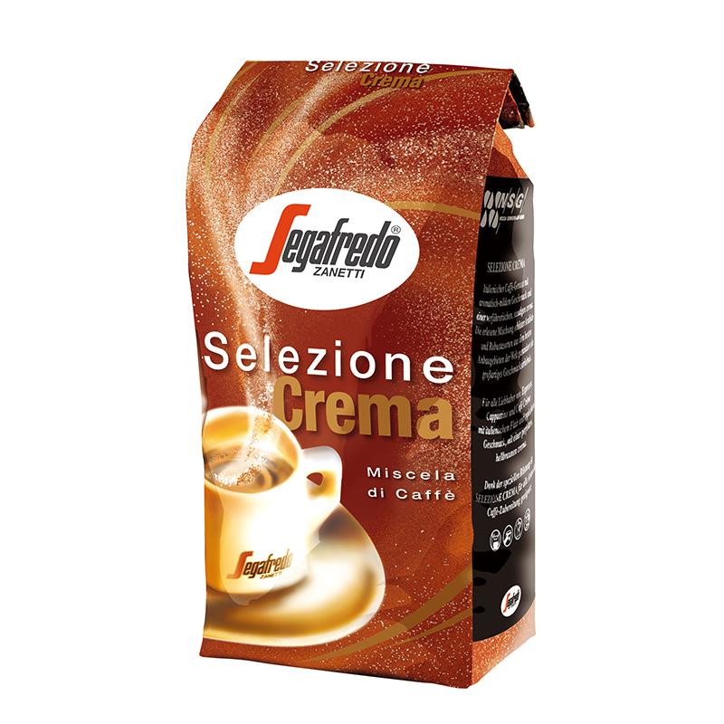 segafredo世家兰铎意式咖啡豆意大利进口奶香1kg浓缩咖啡豆新鲜咖啡粉现磨