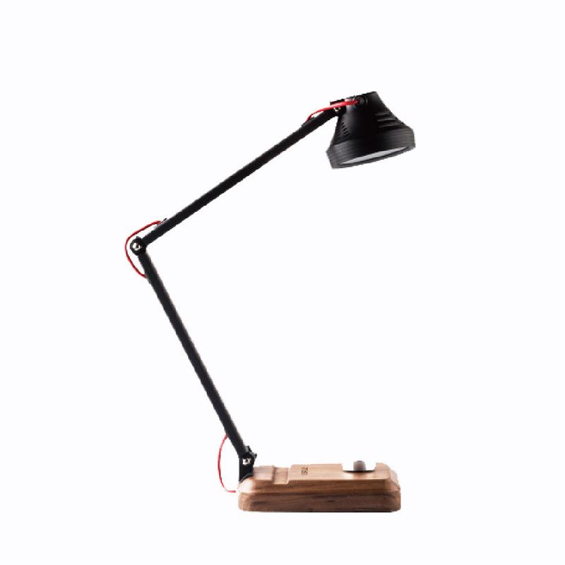 山力士 T6双光源实木护眼台灯