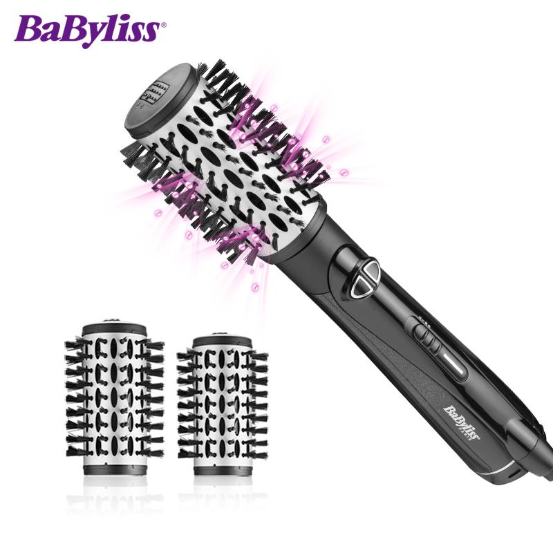 巴比丽丝(BaByliss) 吹风造型梳 时尚造型风梳钻石涂层滋养秀发 BAB2995CN(颜色随机发货)