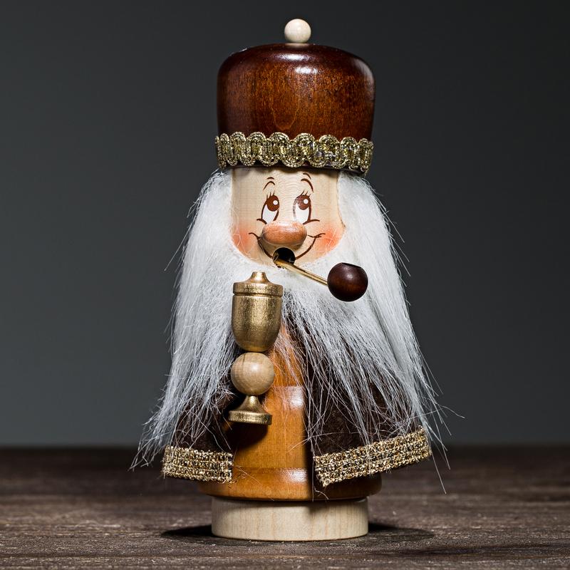 德国原产Christian Ulbricht木质手工香薰木偶摆件小精灵
