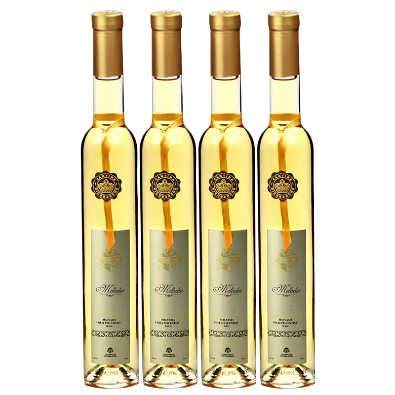 美绚冰谷晚收甜白葡萄酒375mlx4意大利进口白葡萄酒 小黑马优选