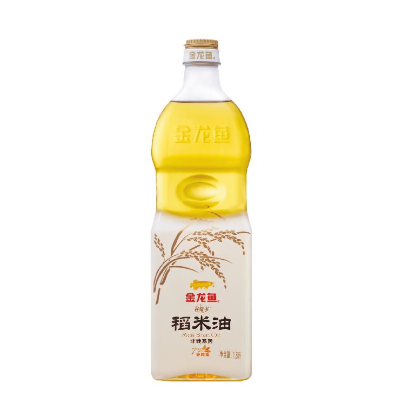 金龙鱼谷维多稻米油1.6L