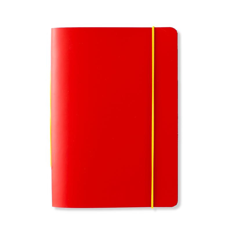 芬兰原产PRIVATE CASE 橡皮筋笔记本记事本可更换纸芯