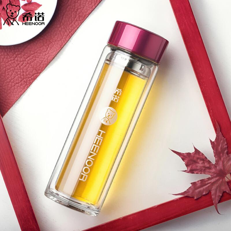 希诺玻璃杯(珠光红、珠光桃红)XN-6505