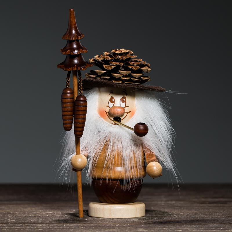 德国原产Christian Ulbricht木质手工香薰木偶松果小精灵