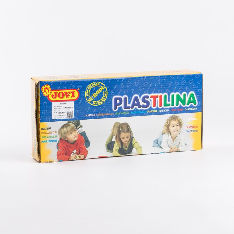西班牙原产JOVI蜡状塑型橡胶泥黏土彩泥儿童橡皮泥