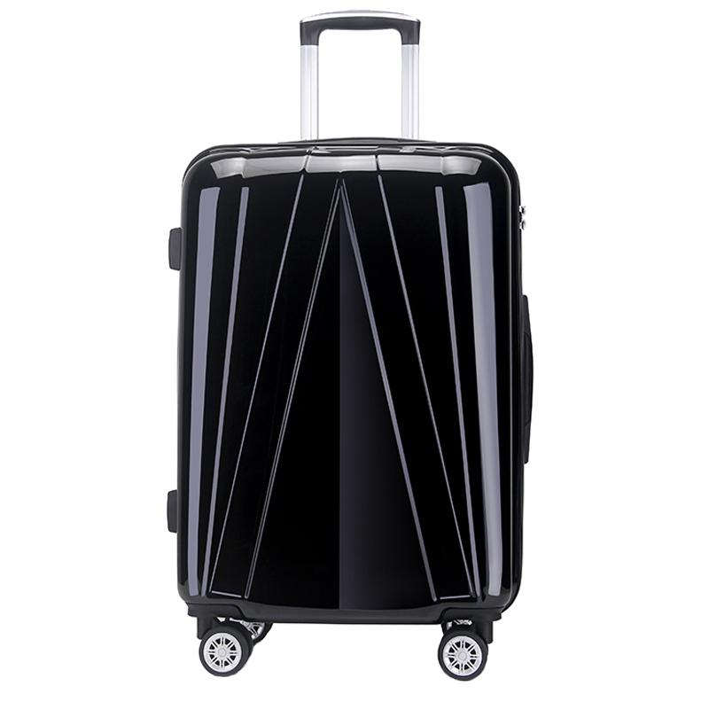 OSDY A-917 24寸万向轮海关锁男女拉杆箱 旅行箱托运箱包【颜色随机】