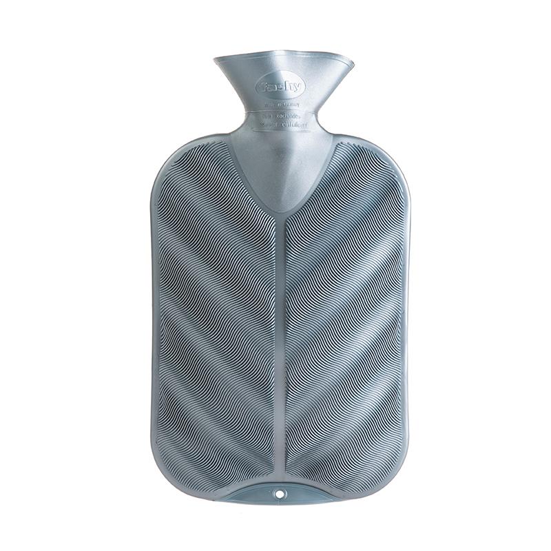 德国原产fashy注水防爆热水袋暖手宝暖水袋3D纹路