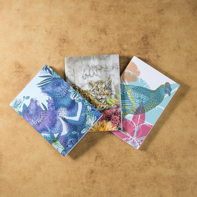 新西兰原产Tikitibu 3件套 笔记本日记本记事本
