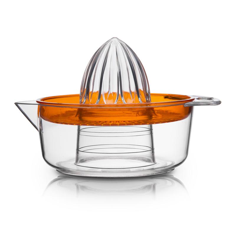 意大利原产Cosmoplast塑料橙子榨汁器 柠檬榨汁器橙色