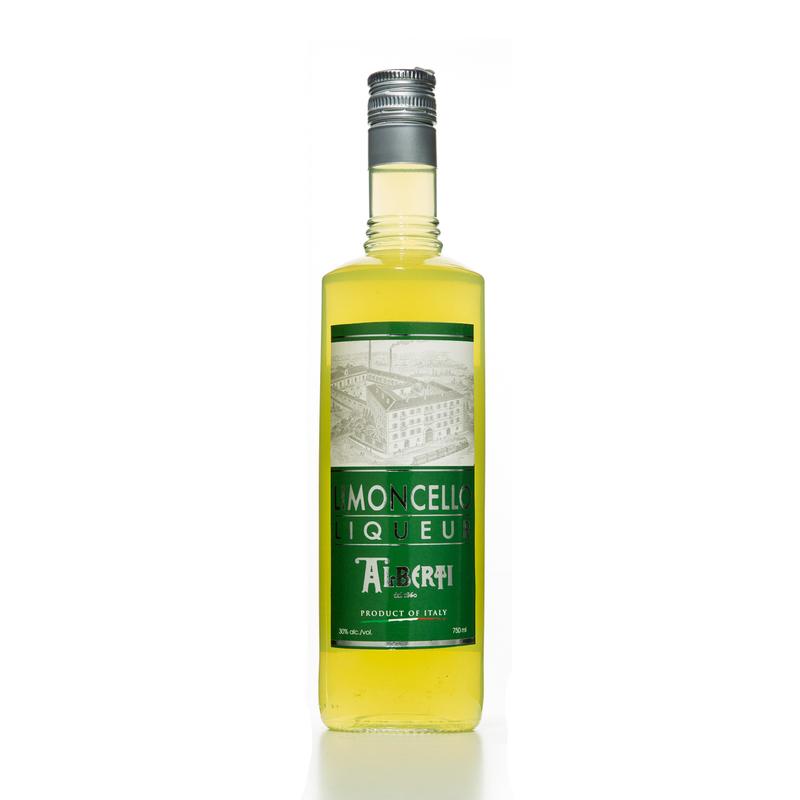 意大利原产Alberti Strega柠檬口味利口酒餐后甜酒餐后酒