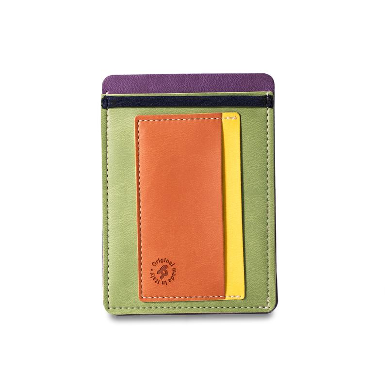 意大利原产Reflexa意式维耶勒法兰绒钱包钱夹9*12.5cm