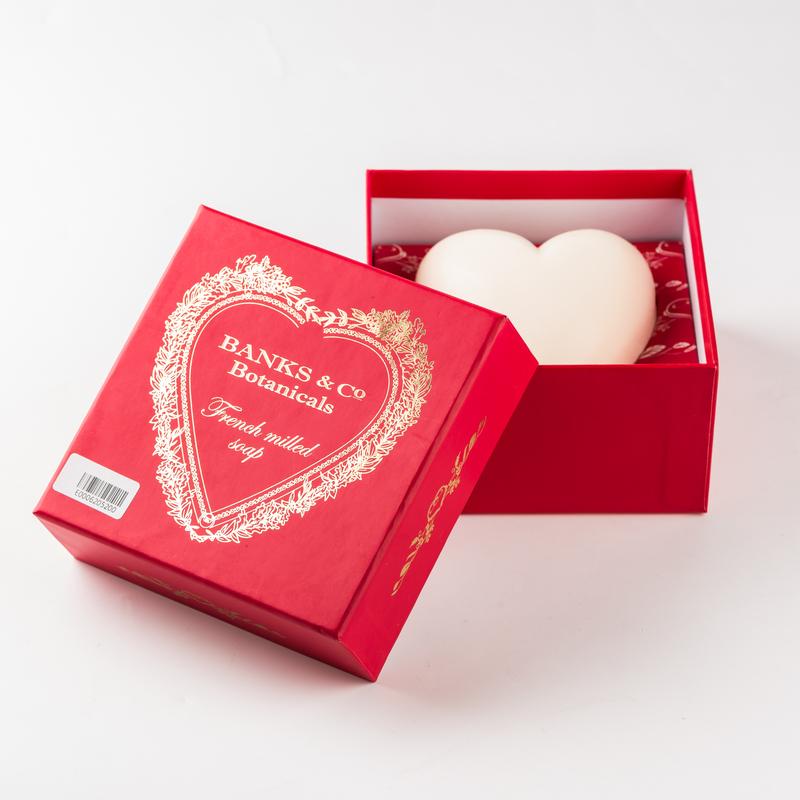新西兰原产BANKS&CO植物精油手工皂洁面沐浴皂心形礼盒装