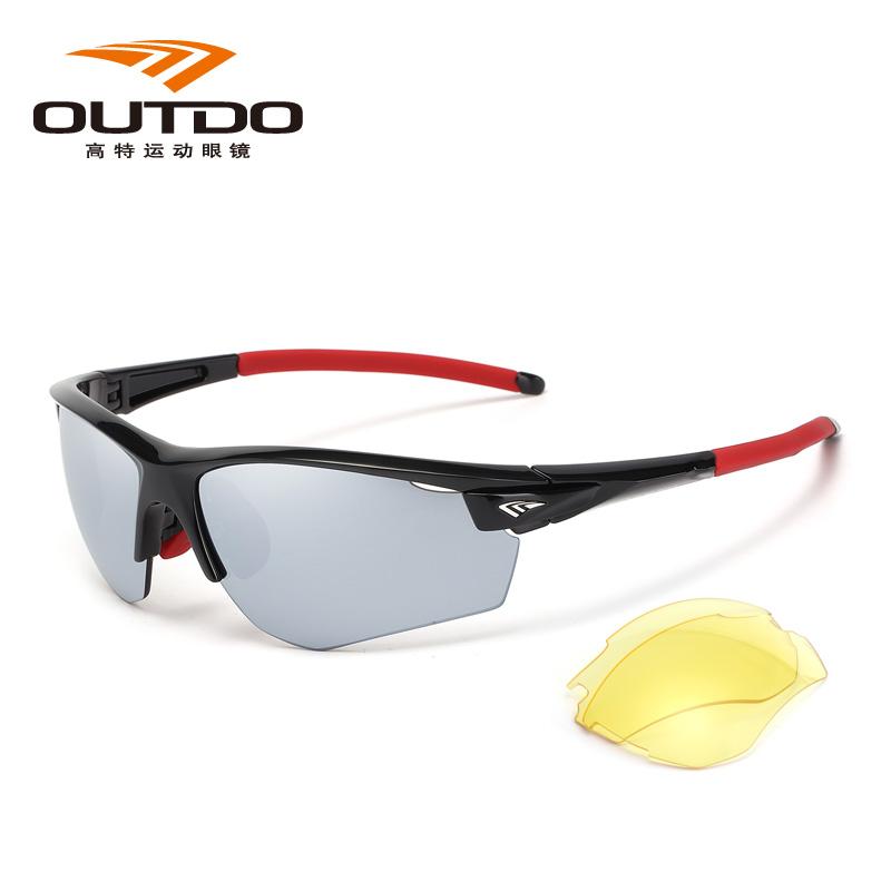 高特运动眼镜GT61005 C255骑行系列/偏光、磁吸换片