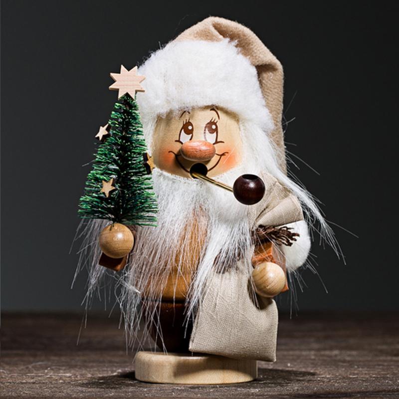 德国原产Christian Ulbricht木质手工香薰木偶圣诞老人