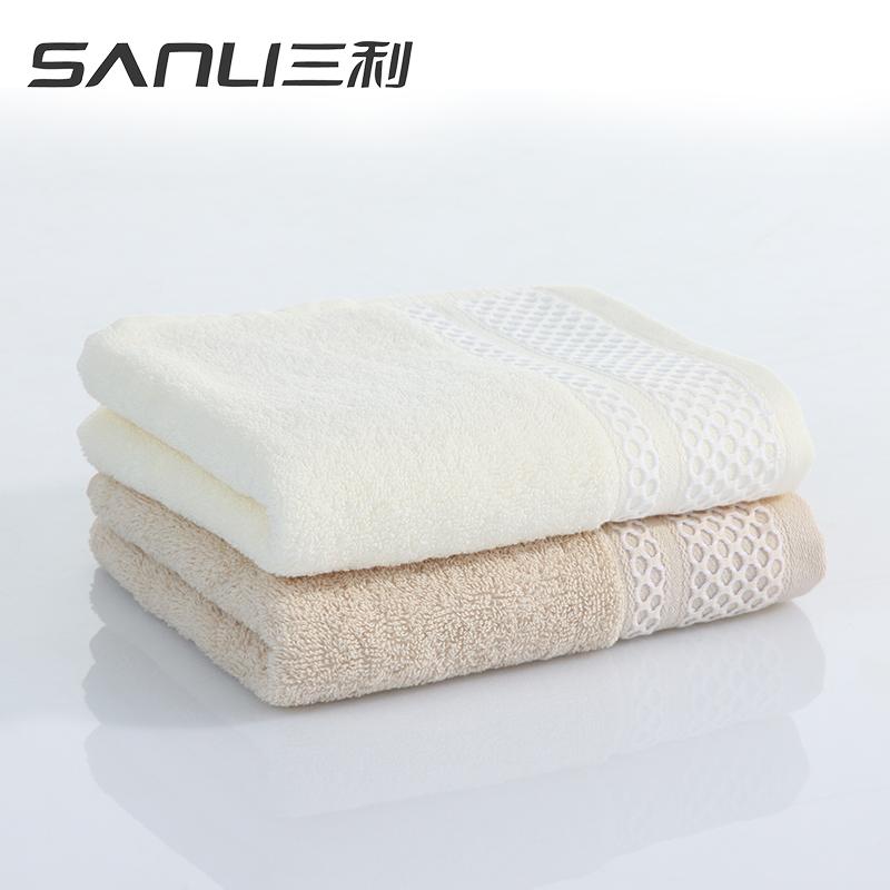 三利布拉格恋人面巾2条礼盒装毛巾